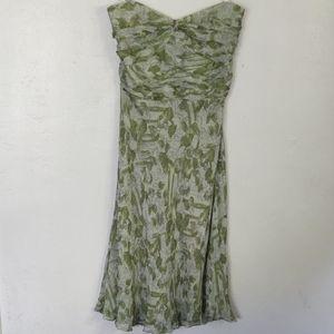 Anthropologie Odille strapless dress size 12